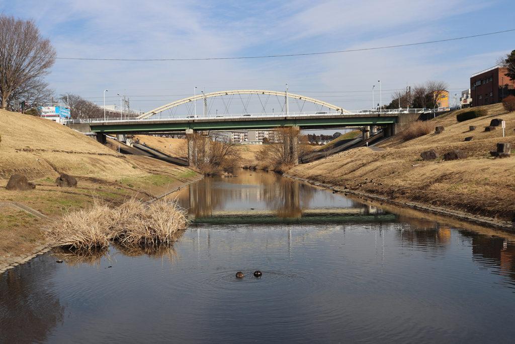 流山と野田を結ぶ橋