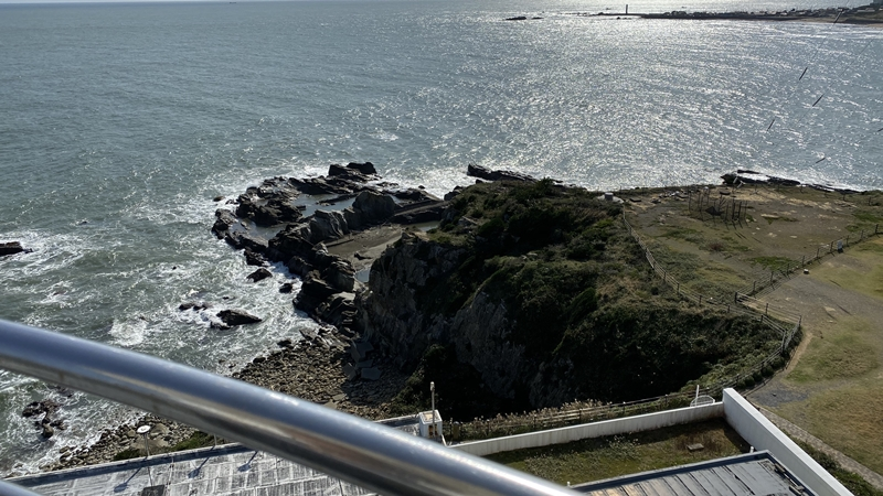 銚子の灯台から1